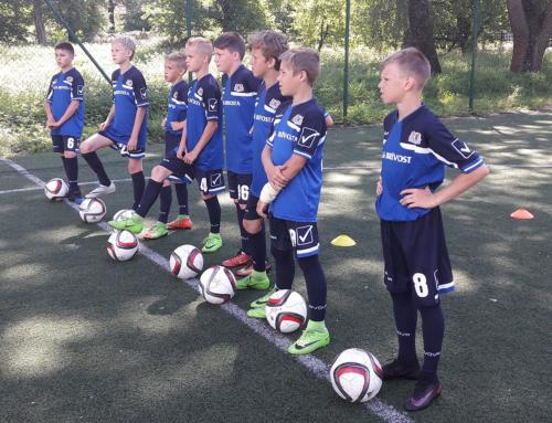 Kārtējais atklātais treniņš Rīgas Futbola akadēmijā.