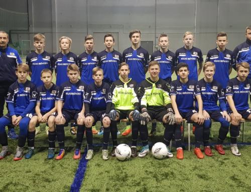 Rīgas reģionālai izlasei 3.vieta Riga Cup 2018 U-14 turnīrā.